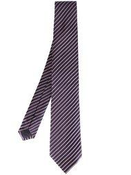 галстук в полоску Armani Collezioni