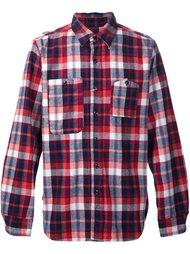 клетчатая рубашка 'Work' Engineered Garments