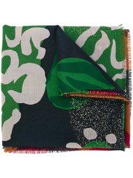 шарф с абстрактным принтом  Burberry