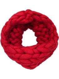шарф-снуд крупной вязки Christian Siriano