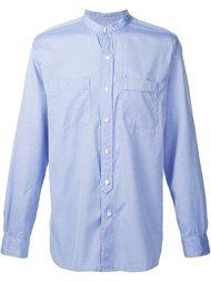 рубашка без воротника Engineered Garments