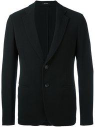 однобортное пальто Giorgio Armani
