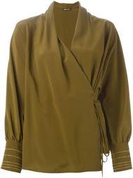 блузка с запахом  Roberto Cavalli