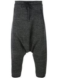 укороченные брюки с заниженной проймой Y-3