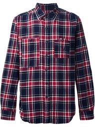 рубашка в клетку 'Work' Engineered Garments
