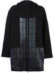 стеганое пальто с капюшоном Y-3