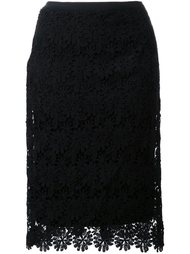 кружевная юбка-карандаш Muveil