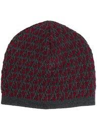 шапка-бини с логотипом Fendi