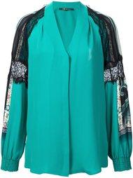 блузка с кружевными вставками Kobi Halperin