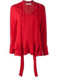 блузка на завязке  Marni