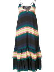 длинное платье в полоску Apiece Apart