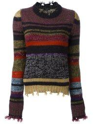 свитер крупной вязки Etro