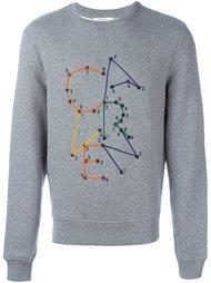 свитер с логотипом  Carven