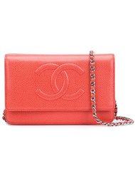 сумка-кошелек с логотипом Chanel Vintage