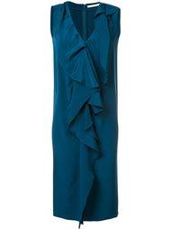 платье с оборками Audra