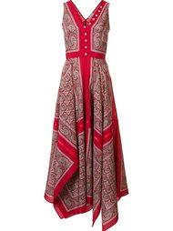 платье с рисунком Altuzarra