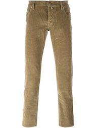 вельветовые брюки кроя слим Jacob Cohen