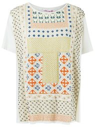 print embroidered blouse Isabela Capeto