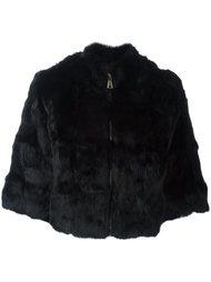 куртка из кроличьего меха Blugirl