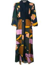 платье-рубашка с узором Roksanda