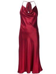 платье с открытой спиной Cushnie Et Ochs