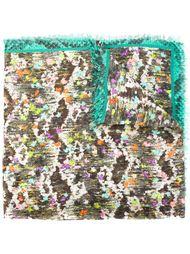 шарф с принтом Roberto Cavalli