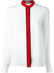 блузка с воротником-мандарин Kenzo