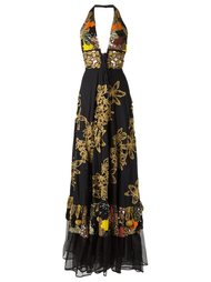 embroidered gown Isabela Capeto