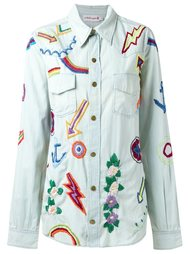 embroidered denim shirt Isabela Capeto