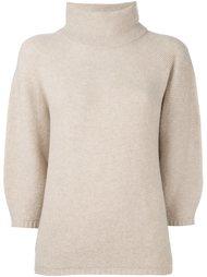 трикотажная структурированная блузка Max Mara