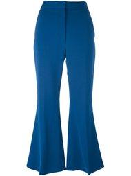 укороченные расклешенные брюки Stella McCartney