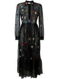 платье из тюля с пайетками Red Valentino