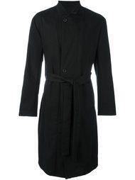 пальто на пуговицах с поясом Ann Demeulemeester