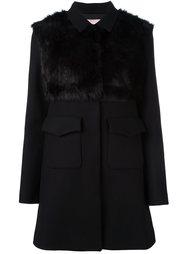 пальто с накладными карманами  Giamba