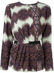 блузка с абстрактным принтом   Etro