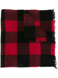 шарф в клетку Dsquared2