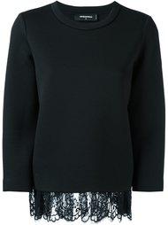 драпированный свитер  Dsquared2