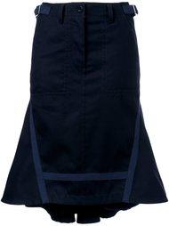 расклешенная юбка  Sacai