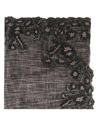 тканый шарф с вышивкой Faliero Sarti