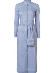 платье-рубашка с поясом Erika Cavallini