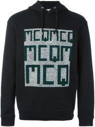 толстовка с принтом-логотипом McQ Alexander McQueen