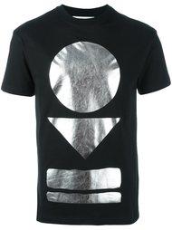 футболка с принтом металлик McQ Alexander McQueen