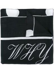 шарф с графическим принтом  McQ Alexander McQueen