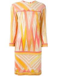 платье с абстрактным узором Emilio Pucci Vintage