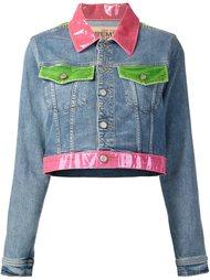 укороченная куртка с цветной отделкой Jeremy Scott