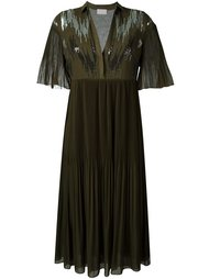 плиссированное платье  Giamba