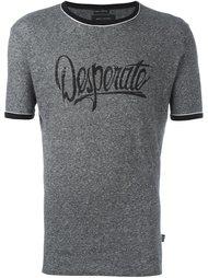 футболка с контрастной окантовкой  Marc Jacobs