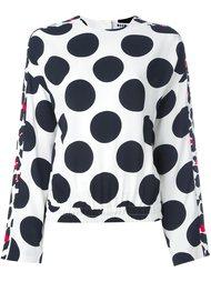 блузка в горох MSGM