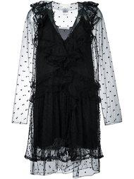 кружевное платье  Chloé