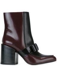 ботинки на массивном каблуке  Marni